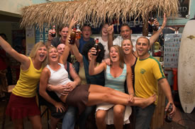 Backpackers In Paradise Bar